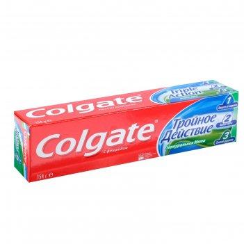 Зубная паста colgate тройное действие, 100 мл