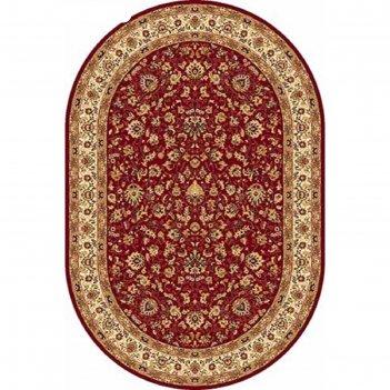 Овальный ковёр izmir 5471, 100 х 300 см, цвет red