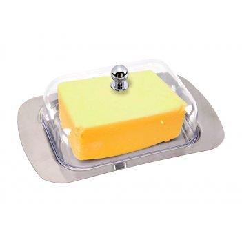 Масленка agness с пластиковой крышкой 18*7*12 см нжс (кор=24шт.)