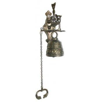 al-82-240 колокольчик на дверь с цепью