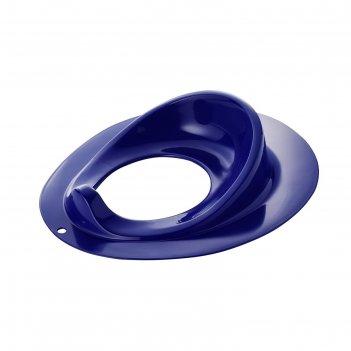 Сидение для унитаза детское junior, цвет синий