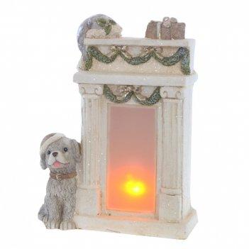 Фигурка декоративная камин (ааах3, не вход.), l29,5 w14,5 h39 см
