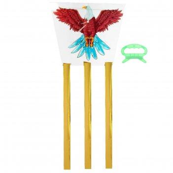Воздушный змей орёл с леской