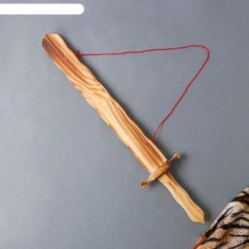 Игрушка деревянная меч 3,5х11,5х60 см