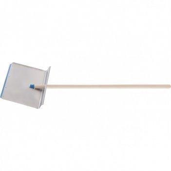 Лопата тротуарная 600 x 400 мм (алюминий) с черенком, россия. сибртеx