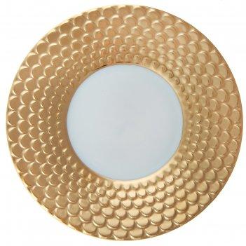 Блюдце aegean gold, диаметр 17 см