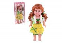 Кукла ева, русская озвучка, работает от батареек