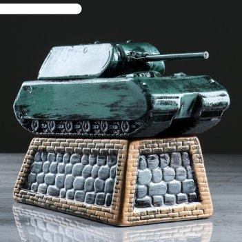 Копилка танк камуфляж цвет зеленый