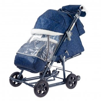 Санки-коляска «ника детям нд8-1к», колёса с камерой