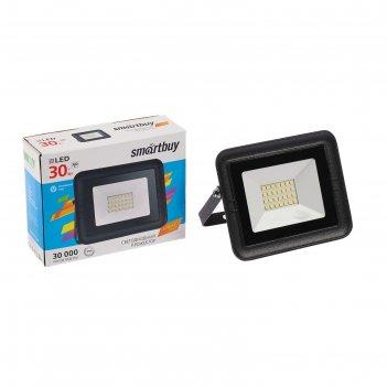 Прожектор светодиодный smartbuy fl smd light, 30 вт, 6500 к, ip65