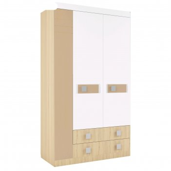 Шкаф 3-х створчатый «стиль 25», 400 x 416 x 2040 мм, цвет туя светлая / ко
