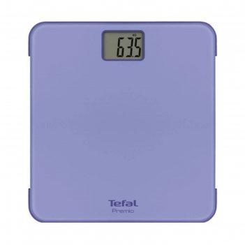 Весы напольные tefal pp1221v0, электронные, до 160 кг, фиолетовые