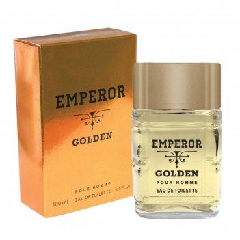 Туалетная вода мужская emperor golden, 100 мл