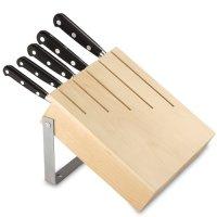 Держатель подвесной для 5 ножей, дерево/сталь, серия panoply