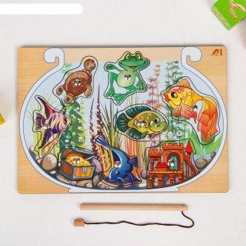 Магнитная рабалка - пазл «аквариум»