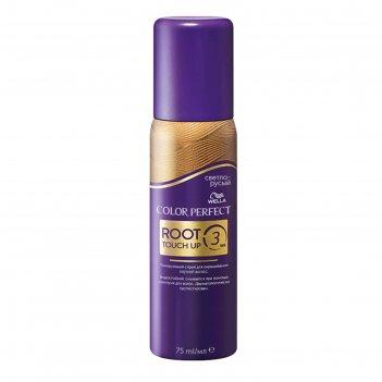 Тонирующий спрей для окрашивания корней волос wella color perfect, светло-