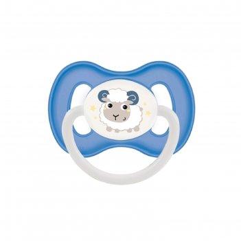 Пустышка силиконовая canpol babies bunny   company, симметричная, от 0-6 м