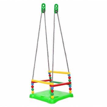 Т0052 качели №2 пластмассовые зеленые