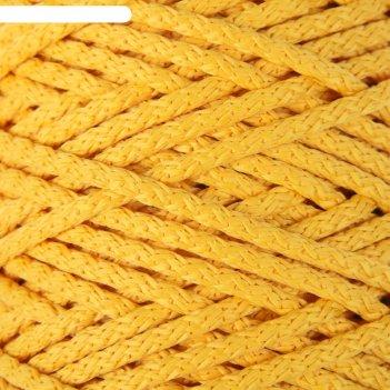 Шнур для вязания с сердечником 100% полиэфир, ширина 5 мм 100м/550гр (16 ж