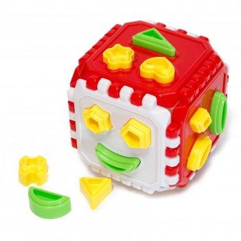 Сортер «куб логический», микс
