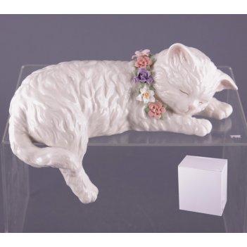 Статуэтка кошка длина=23 см