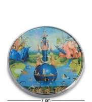 Pr-m24jb зеркальце сад земных наслаждений босх, фрагмент (museum.parastone