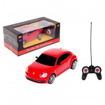 Машина на радиоуправлении volkswagen beetle  1:20 27026
