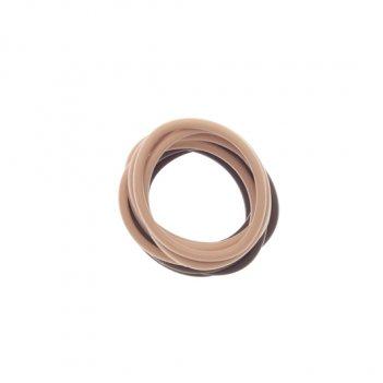 Резинки для волос силиконовые (12 шт) dewal res039
