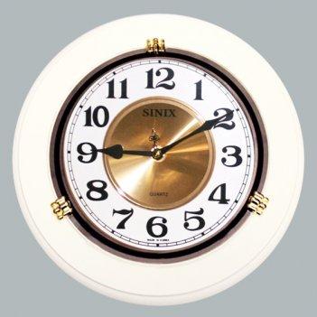 Настенные часы sinix 1018cma white