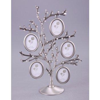 Фоторамка-дерево на 5 фото 4*5 см.высота=28 см.(ко...