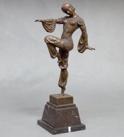 Ep-043 фигура бронзовая танцовщица