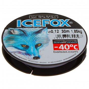 Леска зимняя balsax ice fox 0,12 30м