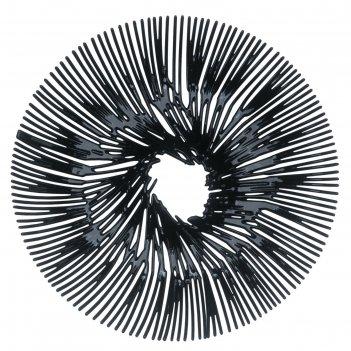 Блюдо для фруктов anemone, чёрное