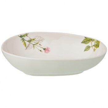 Салатник - суповая тарелка meadow 22,5*16 см (кор=18шт.) мал.уп.=3шт
