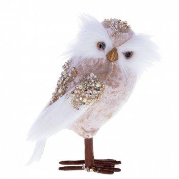 Фигурка декоративная сова, l10 w12 h22 см