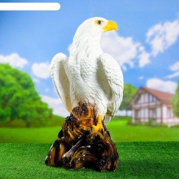 Садовая фигура орел белый  65см