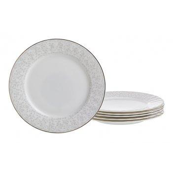 Набор тарелок из 6 шт. диаметр=19,5 см.(кор=6наб.)