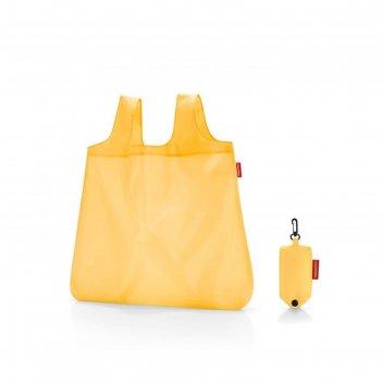 Сумка складная, размер 45 x 53,5 x 7 см, цвет жёлтый ao2023