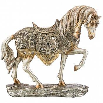 Фигурка конь 30*8,5*27 см. серия махараджи (кор=6шт.)