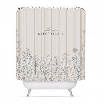 Штора для ванной комнаты bath rituals