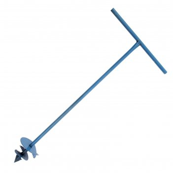 Бур шнековый, d=15 см, ручка 1 метр