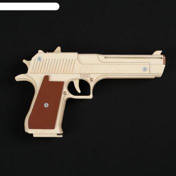 Резинкострел пистолет дезерт игл, окрашенный, автоматический