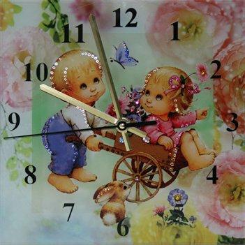 Картина сваровски - часы потехе час