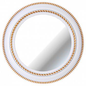 Зеркало настенное lovely home диаметр=52 см цвет: белый(кор=4шт.)