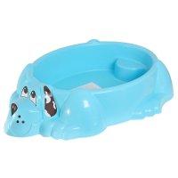 Песочница-бассейн собачка, цвета микс