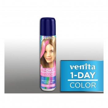 Оттеночный спрей для волос 1-day color, 08 розовый мир, 50 мл
