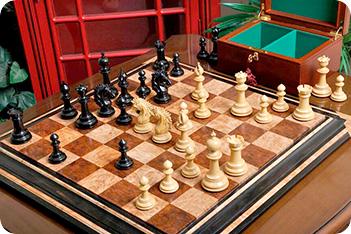 Эксклюзивные резные шахматы ручной работы артизан камелот, эбен, самшит