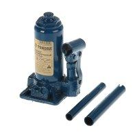 Домкрат гидравлический бутылочный tundra comfort, 2т, телескопический 165-
