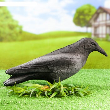 Фигура подсадная ворона серая