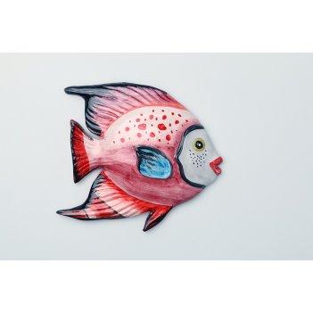 Панно настенное рыба 16*15 см